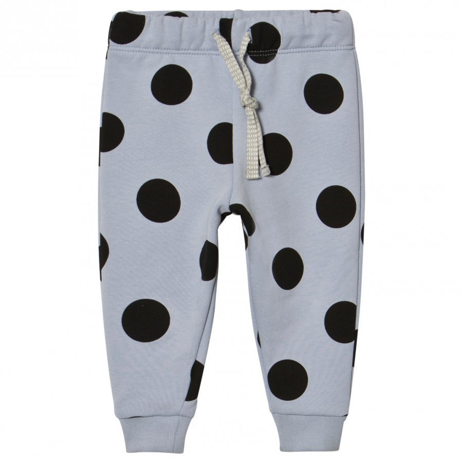 Livly Sweat Pants Black Dotty/Blue Verryttelyhousut