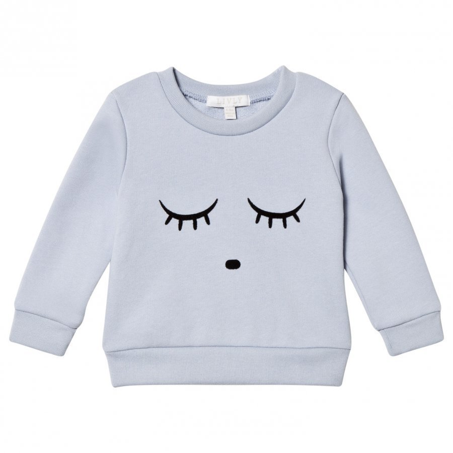Livly Sweatshirt Sleeping Cutie/Ice Blue Kauluspaita