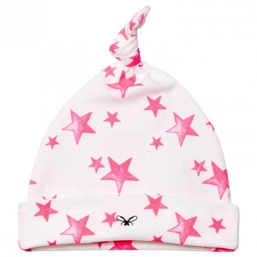 Livly Tossie Hat Hot Pink Stars Pipo