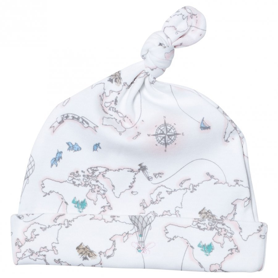 Livly Tossie Hat Pink World Map Pipo