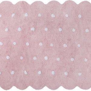 Lorena Canals Matto Galleta 120 x 160 cm Vaaleanpunainen