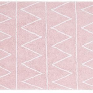 Lorena Canals Matto Hippy 120 x 160 cm Vaaleanpunainen
