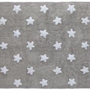 Lorena Canals Matto Stars 120 x 160 cm Harmaa