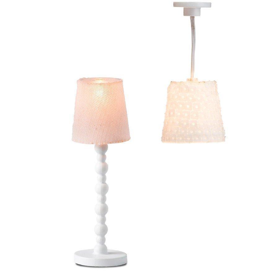 Lundby Lamppusetti Jalkalamppu + Kattolamppu