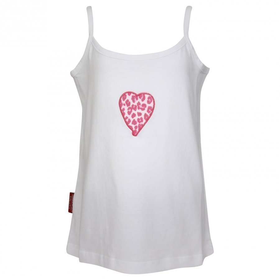 Lundmyr Of Sweden Camisole White Leo Heart Liivi