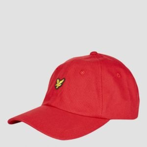 Lyle & Scott Baseball Cap Laukku Punainen