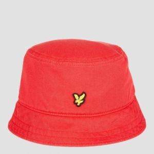 Lyle & Scott Bucket Hat Hattu Punainen