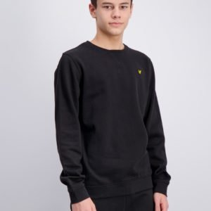 Lyle & Scott Classic Crew Neck Fleece Neule Musta