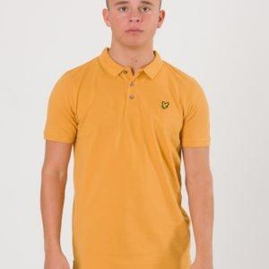 Lyle & Scott Classic Polo Shirt Pikee Keltainen
