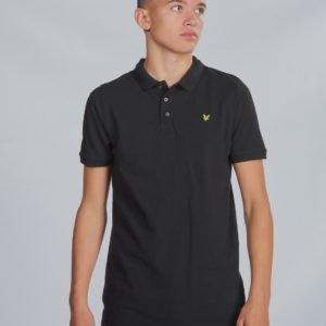 Lyle & Scott Classic Polo Shirt Pikee Musta