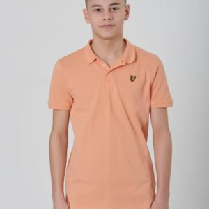 Lyle & Scott Classic Polo Shirt Pikee Oranssi