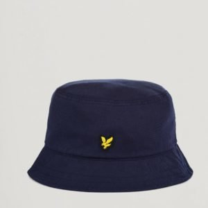 Lyle & Scott Cotton Twill Bucket Hat Hattu Sininen