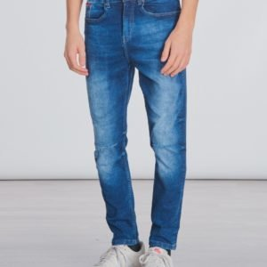Lyle & Scott Denim Skinny Fit Farkut Sininen