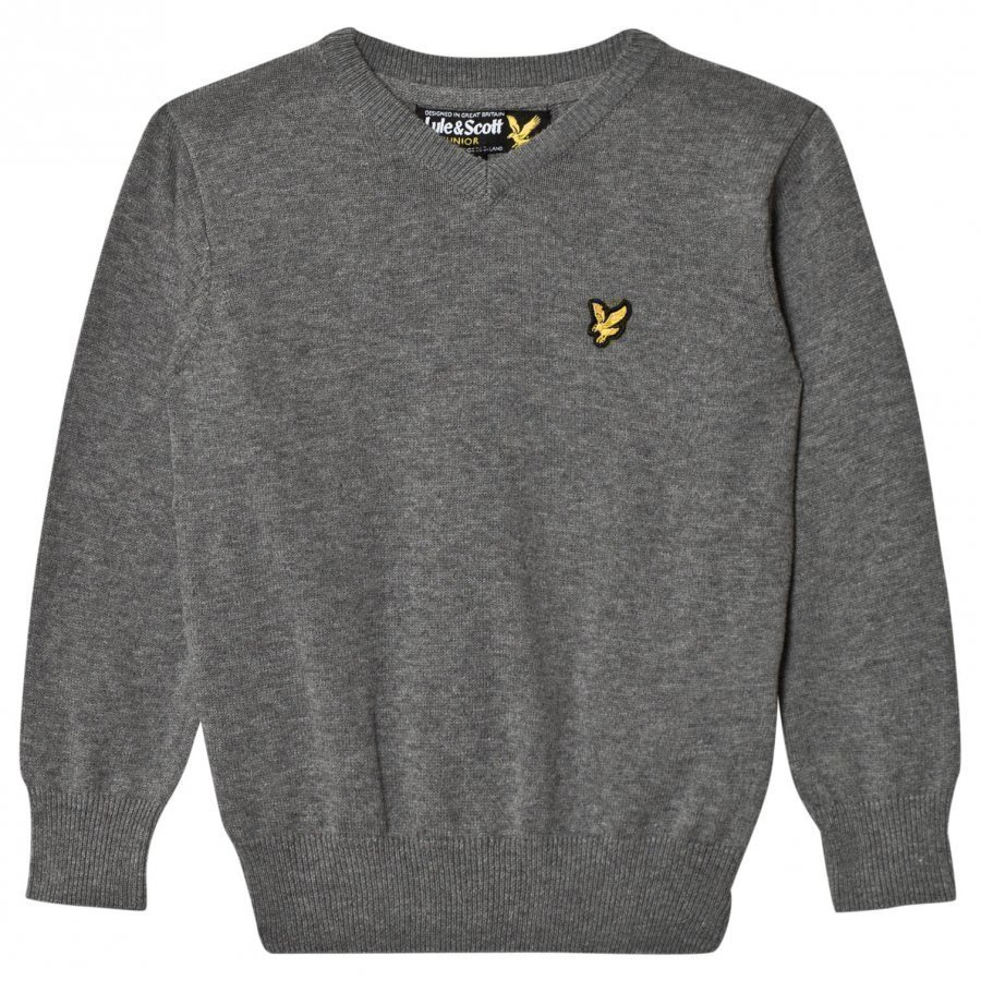 Lyle & Scott Grey Knit Sweater Paita