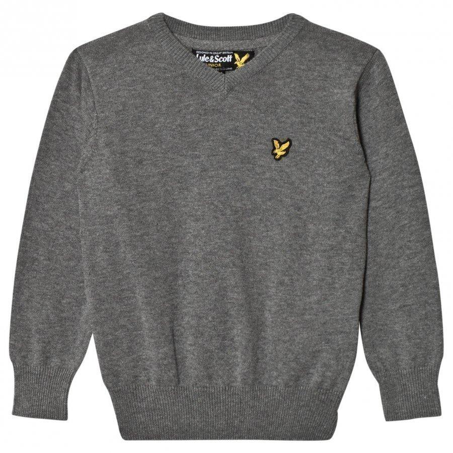 Lyle & Scott Grey Knit Sweater Paita