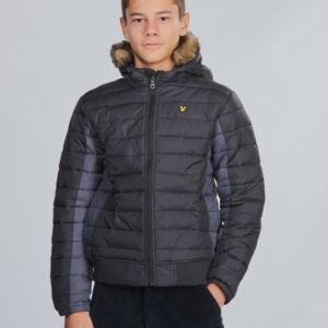 Lyle & Scott Light Weight Colour Block Jacket Takki Musta