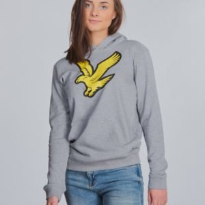 Lyle & Scott Logo Hoody Fleece Huppari Harmaa