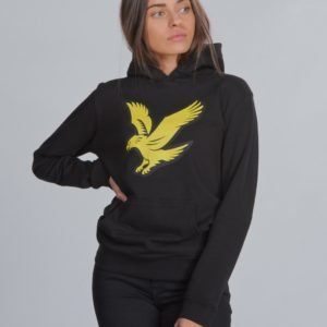 Lyle & Scott Logo Hoody Fleece Huppari Musta
