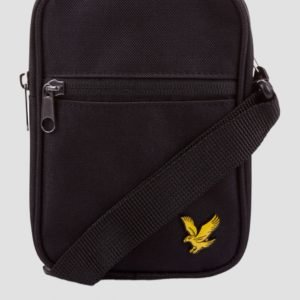 Lyle & Scott Mini Messenger Laukku Musta