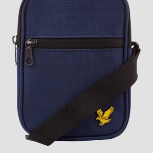 Lyle & Scott Mini Messenger Laukku Sininen