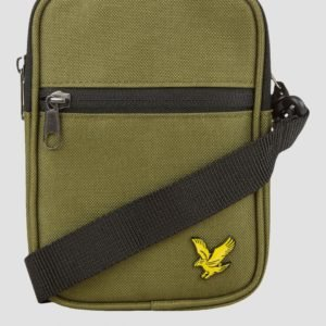 Lyle & Scott Mini Messenger Laukku Vihreä