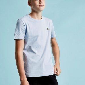 Lyle & Scott Short Sleeve Logo T-Paita Sininen