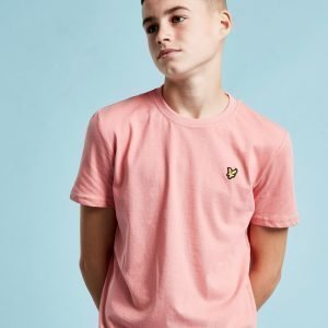 Lyle & Scott Short Sleeve Logo T-Paita Vaaleanpunainen
