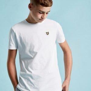 Lyle & Scott Short Sleeve Logo T-Paita Valkoinen