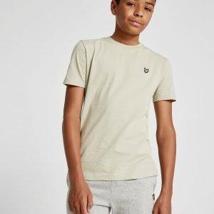 Lyle & Scott Short Sleeve Logo T-Shirt Beige