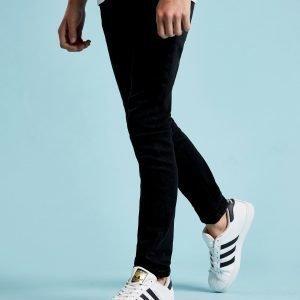 Lyle & Scott Skinny Jeans Musta
