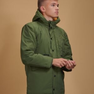 Lyle & Scott Winter Weight Microfleece Parka Takki Vihreä