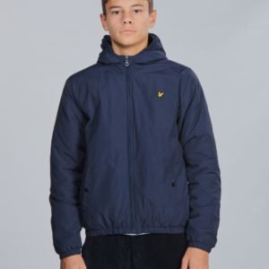 Lyle & Scott Zip Through Hooded Jacket Takki Sininen