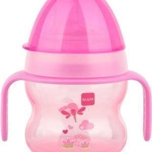 MAM Muki Starter Cup 150 ml Pinkki