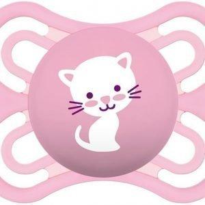 MAM Tutti + Sterilointirasia Perfect 0-6m Silikoni Vaaleanpunainen