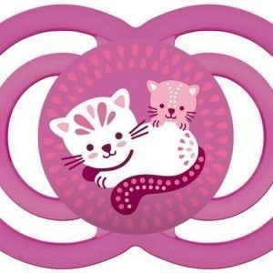MAM Tutti + Sterilointirasia Perfect 6m+ Silikoni Vaaleanpunainen