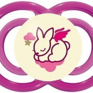 MAM Tutti + Sterilointirasia Perfect Night 6m+ Silikoni Vaaleanpunainen