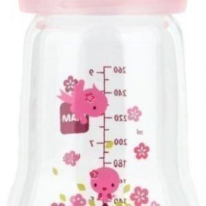 MAM Tuttipullo Lasia 260 ml Vaaleanpunainen