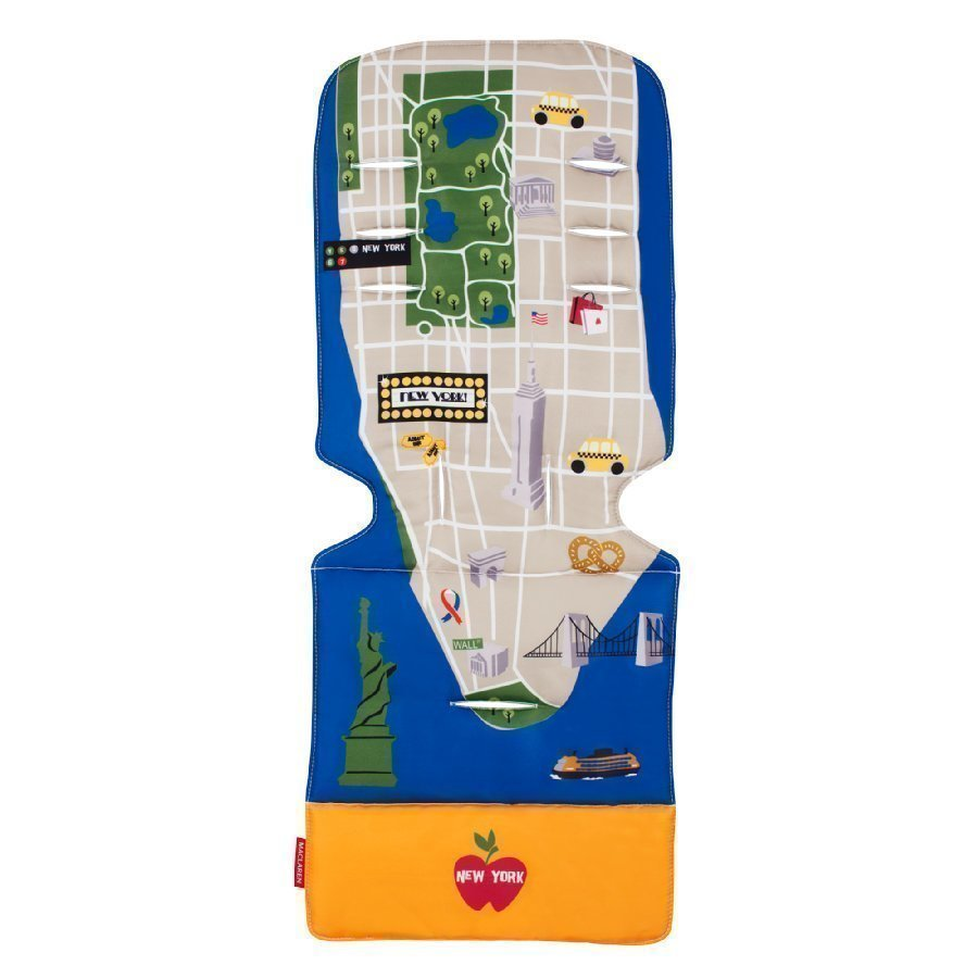 Maclaren Istuinalusta Universal New York City Map