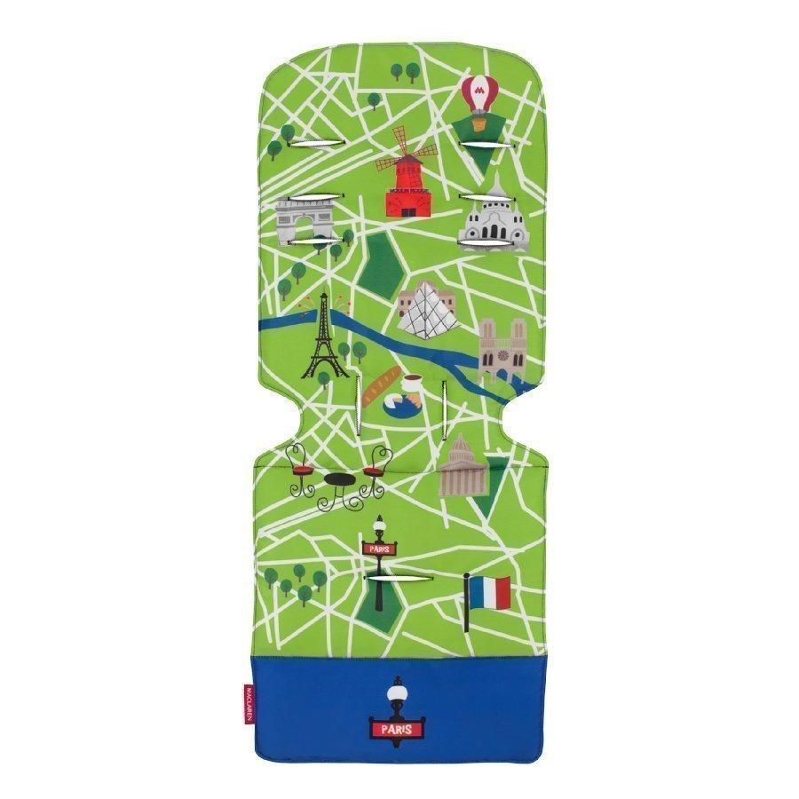 Maclaren Istuinalusta Universal Paris City Map