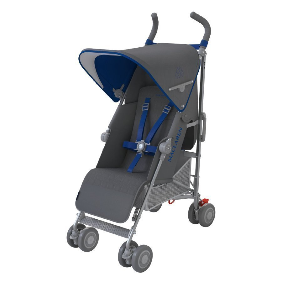 Maclaren Quest Sport Charcoal / Harbour Blue Rattaat