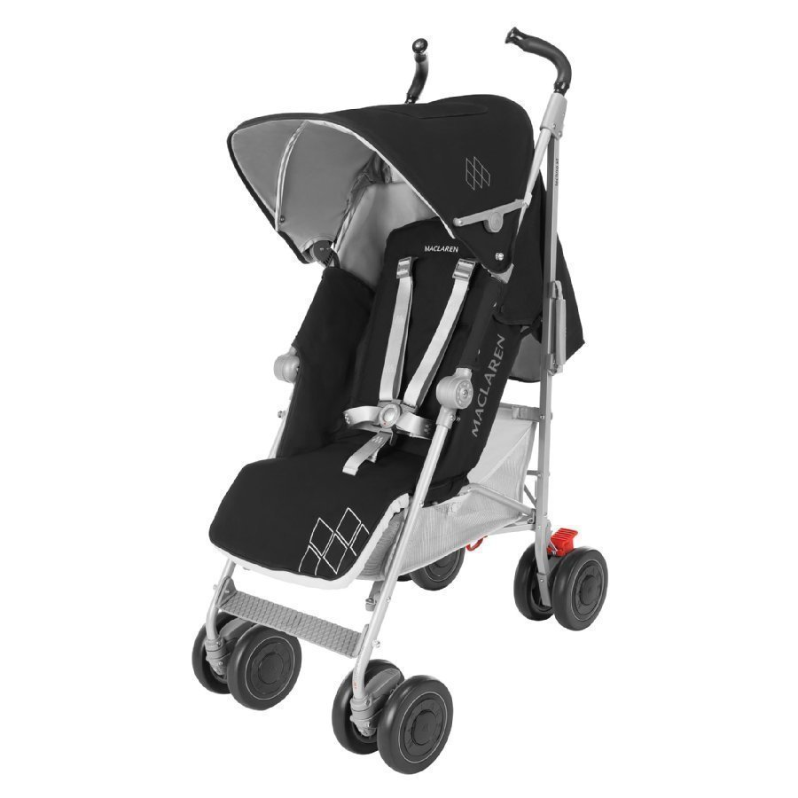 Maclaren Techno Xt Black / Silver Rattaat