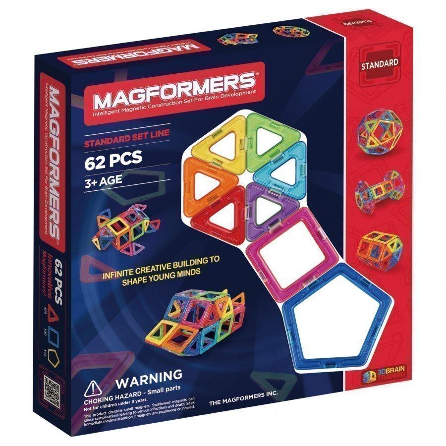 Magformers 62 Piece Rainbow Set Rakennuspalikat