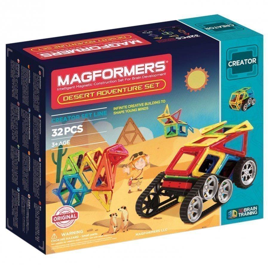 Magformers Adventure Desert 32 Piece Set Rakennuspalikat
