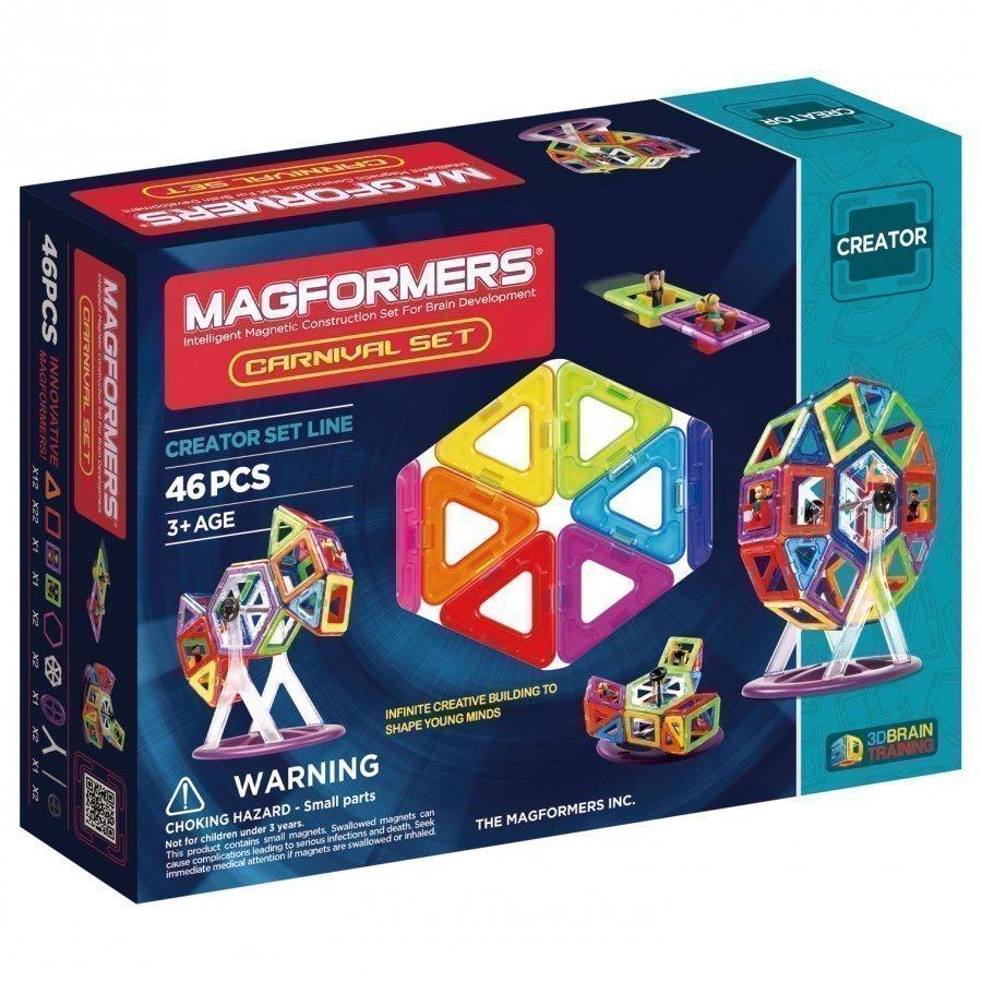 Magformers Carnival 46 Piece Set Rakennuspalikat
