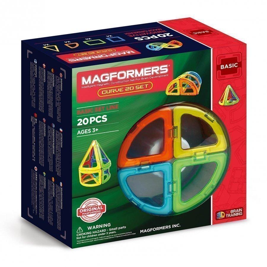 Magformers Curve 20 Set Rakennuspalikat