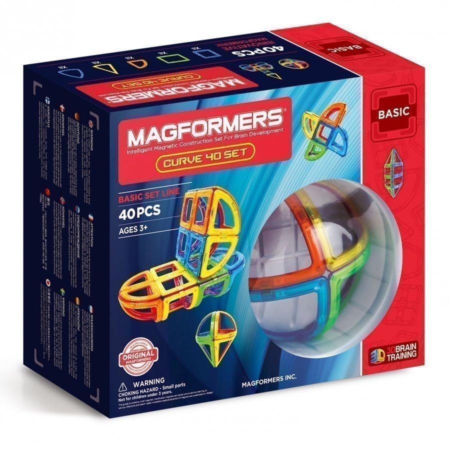 Magformers Curve 40 Piece Set Rakennuspalikat