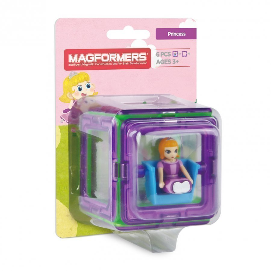Magformers Figure Plus Princess 6 Piece Set Rakennuspalikat