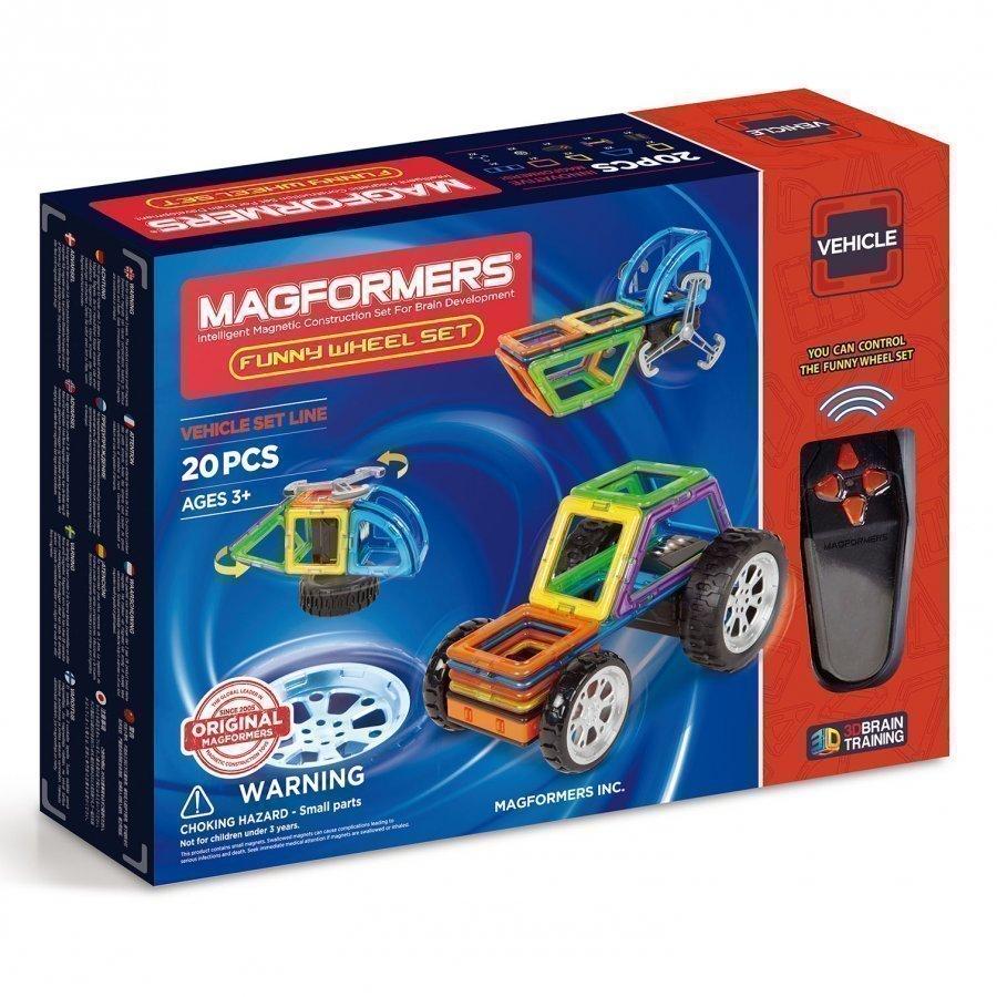 Magformers Funny Wheel 20 Piece Set Rakennuspalikat