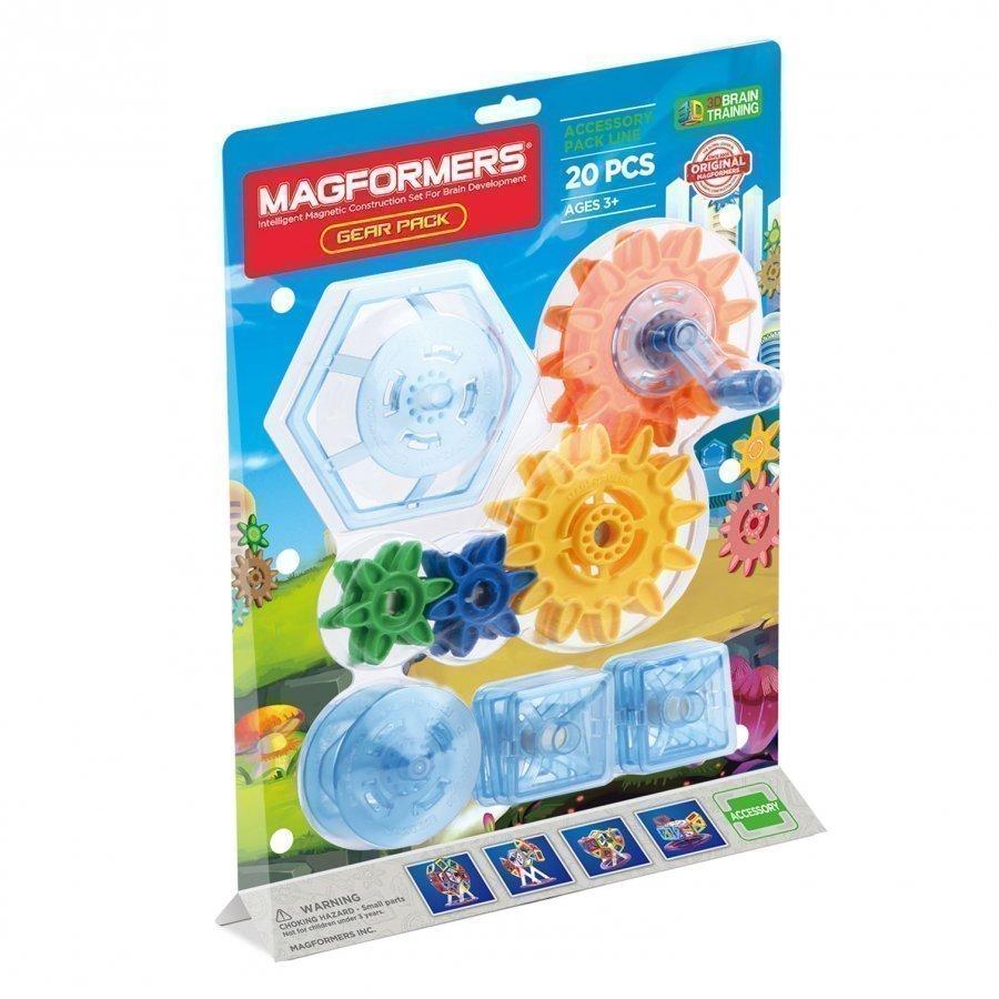Magformers Gear Pack 20 Piece Set Rakennuspalikat