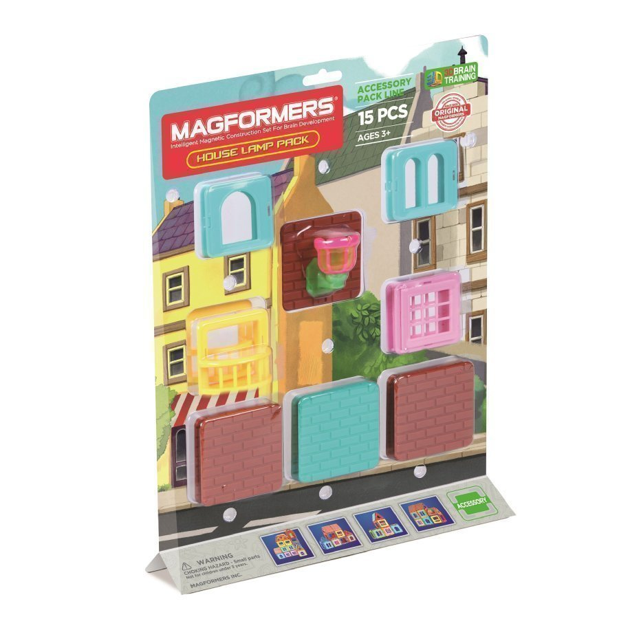 Magformers House Lamp Pack 15